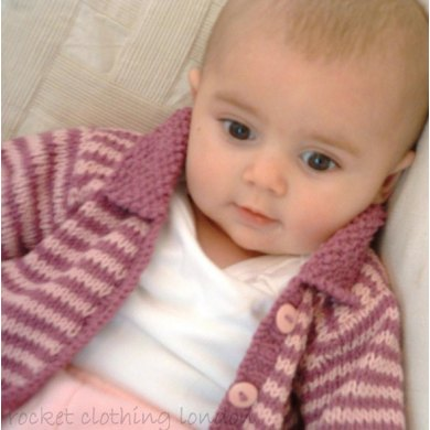 Baby Cardigan 'Mini Stripe