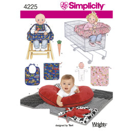 Simplicity Crafts 4225 - Paper Pattern, Size OS (ONE SIZE)