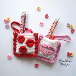 Valentine Kisses Treat Bags
