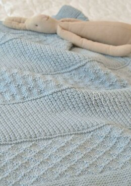photo regarding Free Printable Knitting Patterns for Baby Blankets named Very simple Textured Blanket Jasper