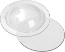 "Sizzix Dimensional Domes 12/Pkg Inspired By Tim Holtz - Clear 1.25"" Diameter"