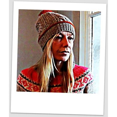 Monte rosa ...a matching hat pattern