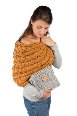 Marutska Poncho in Hoooked RibbonXL - Downloadable PDF