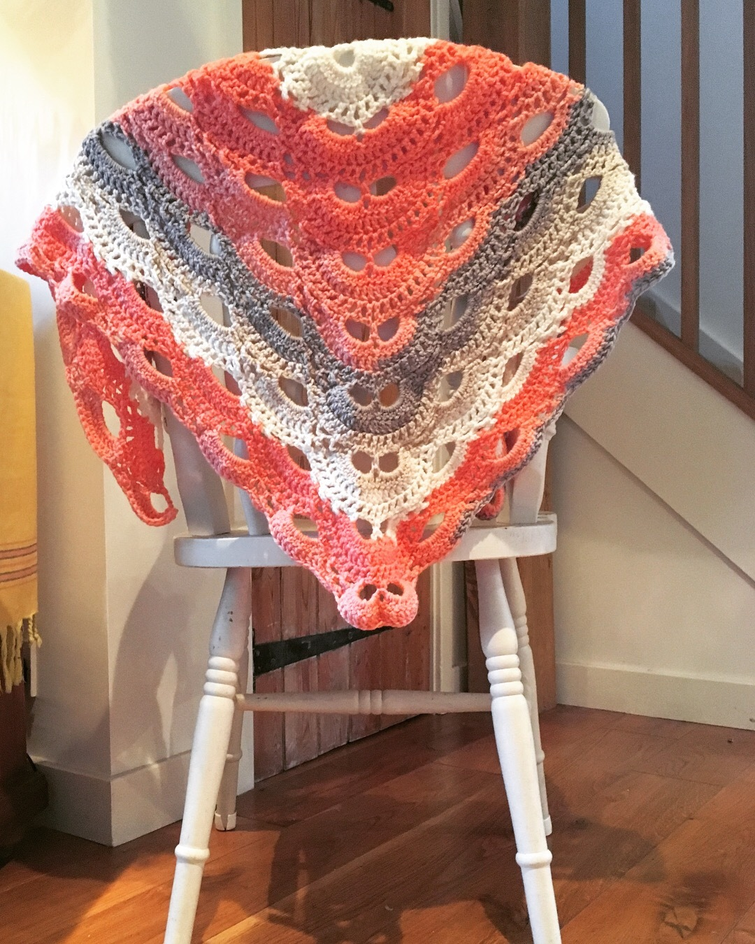Virus Shawl Crochet Project By Tracey Ann A Lovecrochet