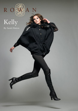 Kelly Batwing Jacket in Rowan Kid Classic