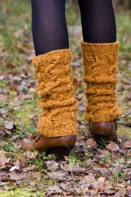 Winter wheat legwarmers