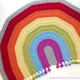 Rainbow Drop Blanket