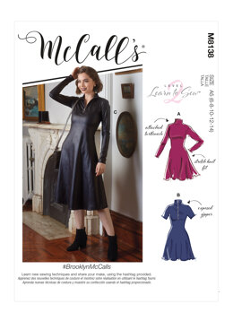 McCall's BrooklynMcCalls - Misses' Dresses M8138 - Sewing Pattern