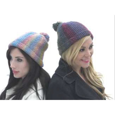 Short Row Hat in Plymouth Gina - F535