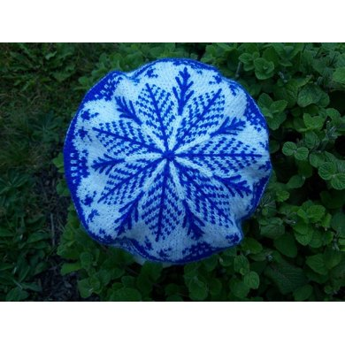 Blue Willow Plate Tam