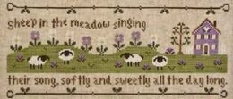 Country Cottage Sheep In The Meadow - CCN44 -  Leaflet