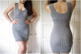 Crochet Bodycon Dress/Top