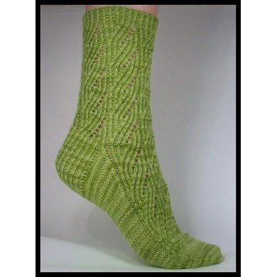 Green Goddess Socks