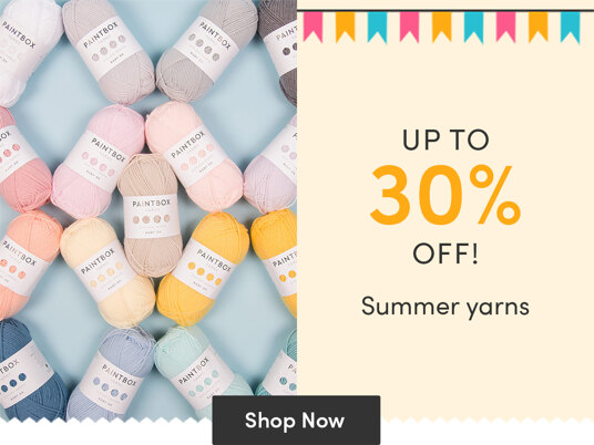 Up to 30 percent off summer yarns