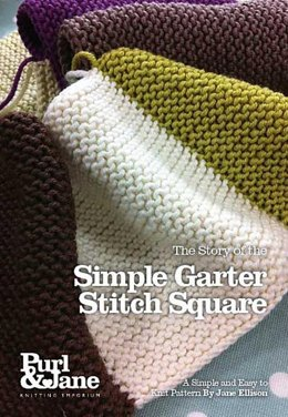Simple Garter Stitch Square