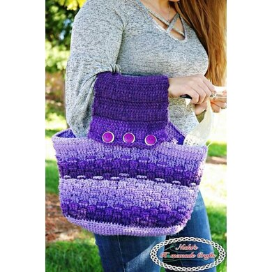 Purple Passion Project Purse