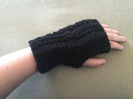 Dauntless Fingerless Mitts (from Divergent)