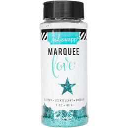 American Crafts Heidi Swapp Marquee Love Chunky Glitter 3 Ounces/Jar - Teal