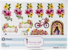 Dress My Craft Image Sheet 240gsm A4 2/Pkg - Whimsical Hues