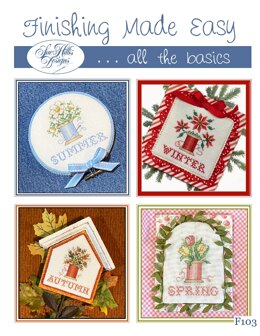 Sue Hillis Designs Finishing Made Easy - F103 - Leaflet