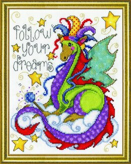 Design Works Dream Dragon Cross Stitch Kit