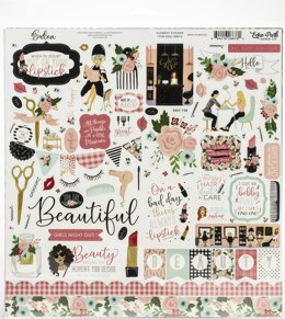 "Echo Park Paper Echo Park Collection Kit 12""X12"" - Salon"