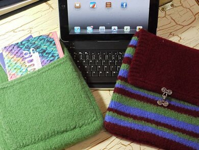 Felted iPad Case