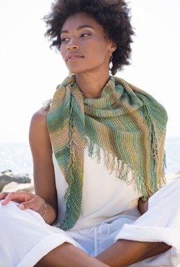 Vacanza Shawl in Berroco Medina - 394-2 - Downloadable PDF