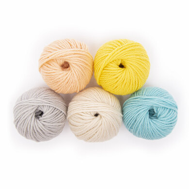 Paintbox Yarns 100% Wool Worsted Mini Ball Colour Pack
