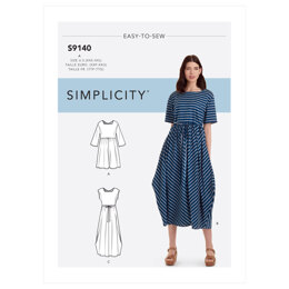 Simplicity Misses' Relaxed Pullover Dress S9140 - Sewing Pattern
