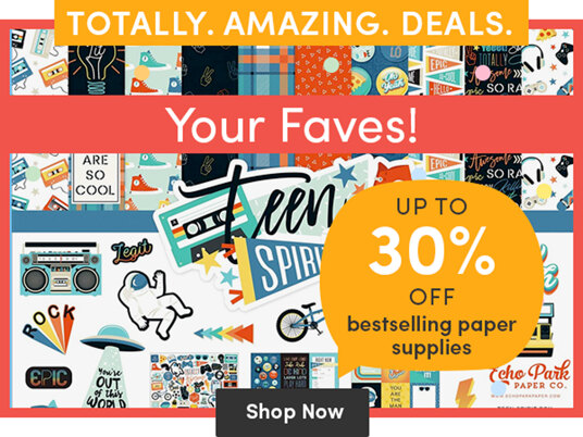 Up to 30 percent off bestselling paper supplies!