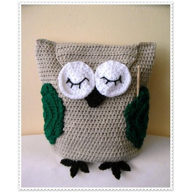 'Owl help you' project bag