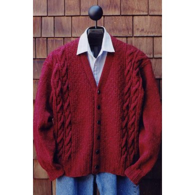 Mari Sweaters MS 134 Men's V Neck Cardigan