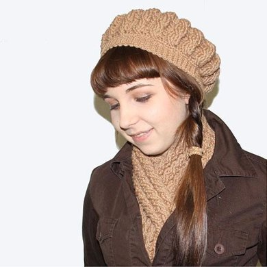 Classic Cables Scarf Set