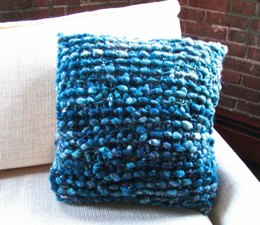 Cozy Cocoon Pillow in Knit Collage Pixie Dust