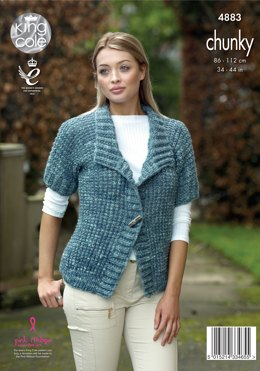Jackets in King Cole Big Value Tonal Chunky - 4883 - Leaflet