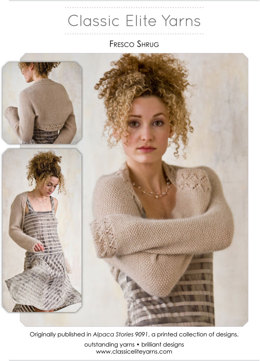 Shrug in Classic Elite Yarns Fresco - Downloadable PDF