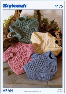 Sweaters in Stylecraft Special Aran - 4175
