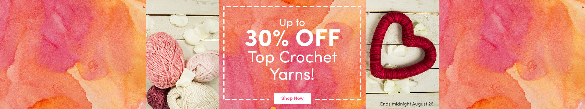 LC Marketing - Up to 30% off fave yarns Aug 17