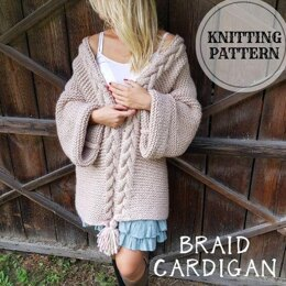 Braid Cardigan