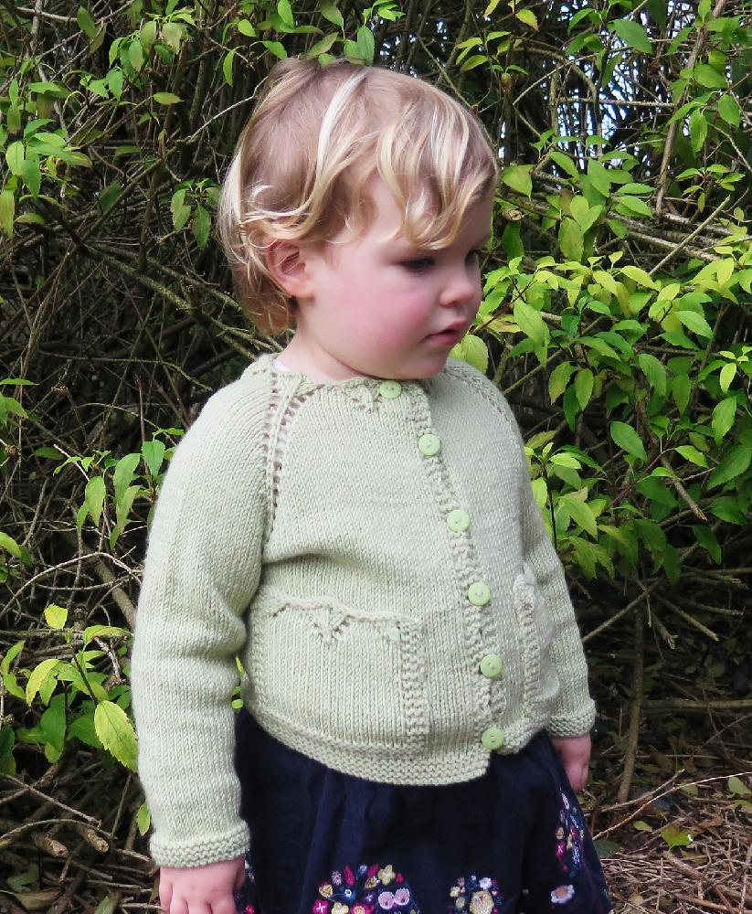 Plymouth KNITTING PATTERN 1207 Royal Silk Merino Cabled Cardigan Pattern Only