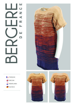Sleeveless Tunic in Bergere de France Unic - Downloadable PDF