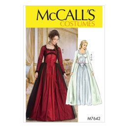 McCall's Misses' Dress Costume M7642 - Sewing Pattern