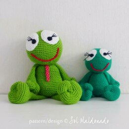 Amigurumi Frog Toy Doll