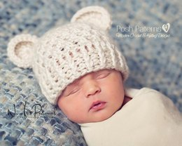 Baby Bear Lace Hat 203