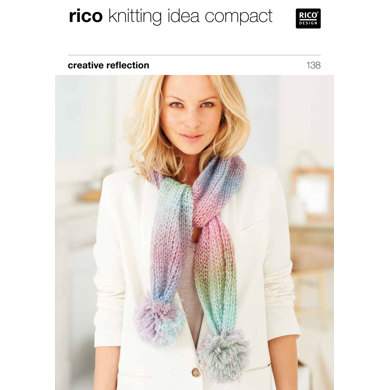 Scarves in Rico Creative Reflection Print - 138