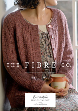 Hodgsons Cardigan Joy in The Fibre Co. Lore - Downloadable PDF