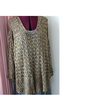 Lace Tunic With Fancy Edge