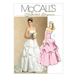 McCall's Misses' Lined Top and Skirts M5321 - Sewing Pattern