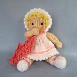 Little Daisy - Knitted Baby Doll